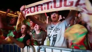 Final do Euro 2016 na Avenida dos Aliados