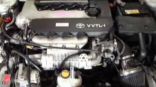 2ZZGE & C60 6 Speed ~ GReddy Super Charger ~ Stock # JS922 ~ Engine Running.wmv