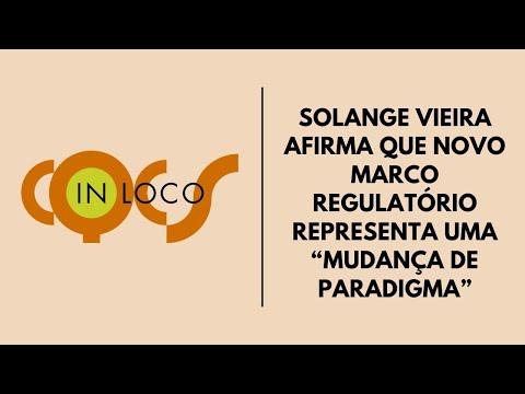 """Imagem post: Solange Vieira afirma que novo marco regulatório representa uma """"mudança de paradigma"""""""