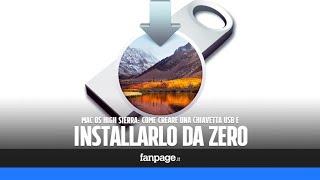 Mac OS High Sierra: come creare una chiavetta USB e installarlo da zero