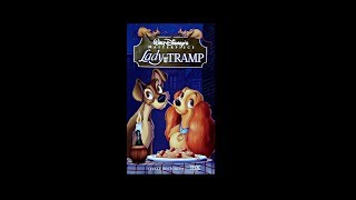 Digitized closing to Lady and the Tramp (Canadian VHS)