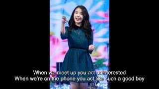 IU (아이유) - Love attack [ENG subs]