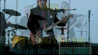 """SWAY"" (Live at the Westport Blues Festival) performed by Tony La Stella's WISE GUYS"