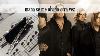 Partitura Maná - Se me olvidó otra vez Flauta Traversa