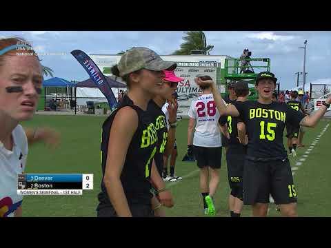 Video Thumbnail: 2017 National Championships, Women's Semifinal: Boston Brute Squad vs. Denver Molly Brown