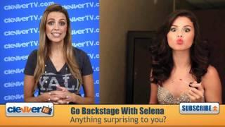 Backstage With Selena Gomez & The Scene