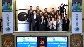 Gongslag opent vierde Pan-European IR Conference
