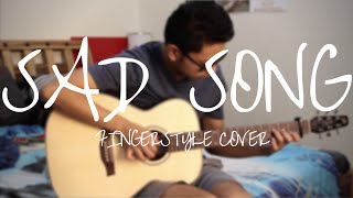 Sad Song - We The Kings - Fingerstyle Guitar