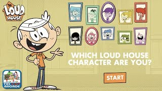 Which Loud House Character Are You? - We got Lincoln... Twice! (Nickelodeon Games)