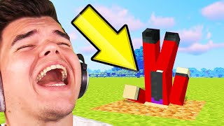 LAUGH = BURN MINECRAFT DIAMONDS! (Try Not To Laugh)