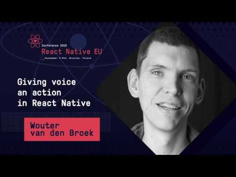 Giving voice an action in React Native