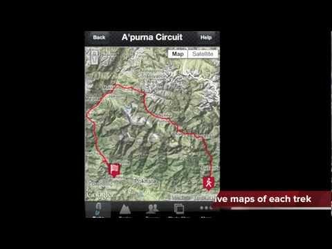 Trek Nepal App Video