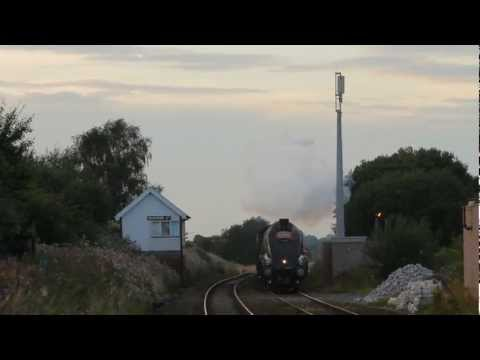Cumbrian Mountain Express Saturday 01st September 2012 – LNER A4 60009 Union of South Africa