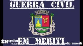 Som do tiroteio da guerra de traficantes na Venda Velha São João de Meriti