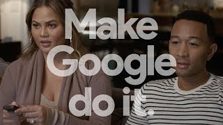Hey Google: Remote (John Legend and Chrissy Teigen)