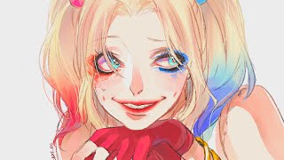 Nightcore - Pretty Little Psycho (HD + Lyrics + Harley Quinn)