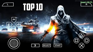 Top 10 PSP Games Under 150MB For Android    Best PPSSPP Emulater Games Android    High Graphics   
