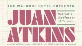 1 Juan Atkins live at Waldorf Hotel, Vancouver, BC, Canada - beginning of set