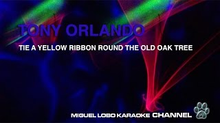 TONY ORLANDO - TIE A YELLOW RIBBON - Karaoke Channel Miguel Lobo
