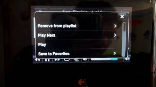 Squeezebox Touch Track Context Menus