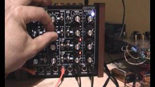 Pink Floyd - On the Run - Analog synthesizer cover