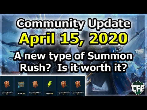 RAID Shadow Legends | Update April 15, 2020 | A new type of Summon Rush? Is it worth?