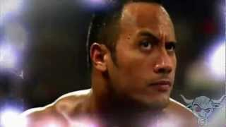 WWE The Rock Titatron with 2000 Theme