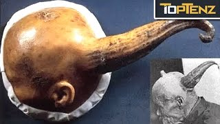 Top 10 BIZARRE Archaeological DISCOVERIES