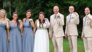 Bridal Party Wears Bandages to Match Bride Who Broke Her Arm Before Wedding Day