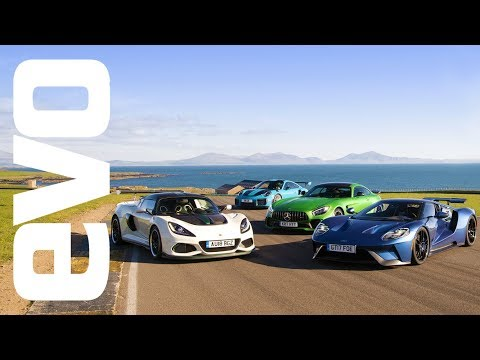 Porsche 911 GT2 RS VS Ford GT VS Lotus Exige Cup VS Mercedes AMG GT R