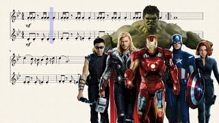 The Avengers for Bb Trumpet (Duo)
