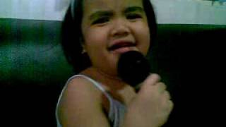 mhige singing duyan by aiza seguerra  (september 6,2009)