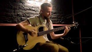 Dmitry Lisenko - Prometheus  ( Percussive Acoustic Bass guitar solo)