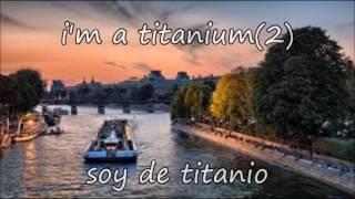 David Guetta-titanium ft sia(español-ingles)acústico-traducción
