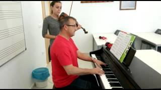 The Last Of The Mohicans Soundtrack. Francisco Acosta (piano)/Tere Gamaza (violín)
