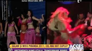 Florin Salam, îndrăgostit de Miss Piranda 2011