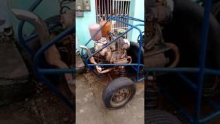 Kart Cross com motor de fusca 1300
