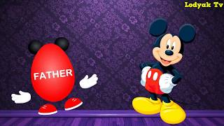 Mickey mouse Dancing surprise eggs finger family song  Mickey mouse clubhouse surprise eggs