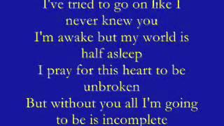 Backstreet Boys   Incomplete lyrics   YouTube