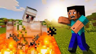Hice una granja para tener HIERRO INFINITO en Minecraft