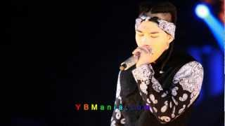 Taeyang - Don't Judge Me [Rehearsal Audio version] (121214 ALIVE TOUR in London Day1 Rehearsal )