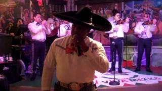 El Charro Negro singing Vicente Fernandez' De Que Manera Te Ovildo