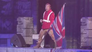 Iron Maiden - The Trooper @ Barclays, Brooklyn night2 2017