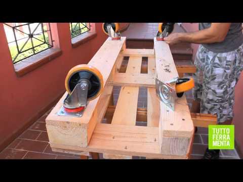 Come costruire un divano fai da te fai da te mania - Costruire un divano in legno ...