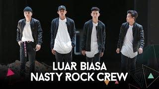 Luar Biasa by Ismail Izzani | Nasty Rock Crew Dance Cover