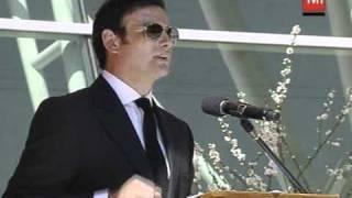 Responso Felipe Camiroaga 2 - Palabras Gonzalo Ramirez  / TVN Chile