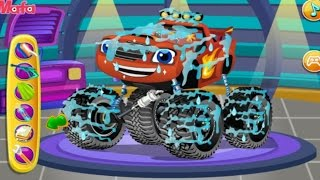 Repair Blaze Monster Truck | Car Wash Game | Game Video for Little Kids