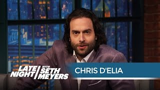 Chris D'Elia on the Dangers of Roasting Justin Bieber - Late Night with Seth Meyers