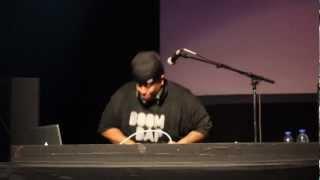 "DJ PREMIER(GANG STARR)-""Work""(Live In Toronto Feb/23/2013)"