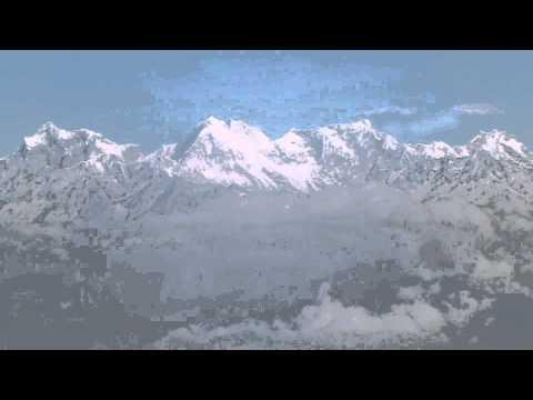 Vol au dessus de l'Himalaya